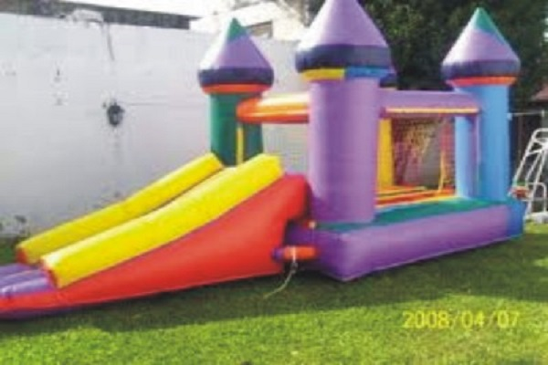 Castillo tobogan inflable